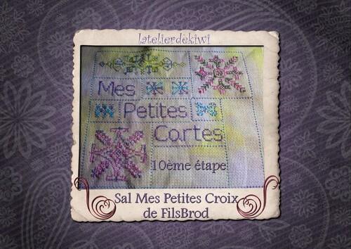 Sal Mes Petites Croix 10 , 11 & 12