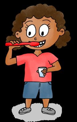 Dessins - Se laver les dents