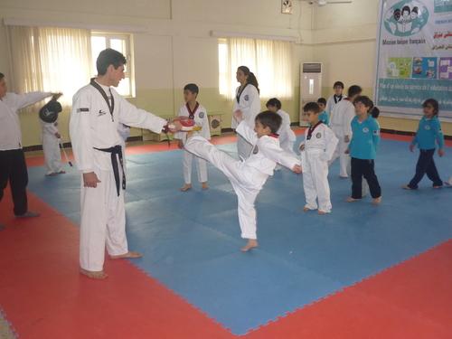 Après l'école, place au Taekwondo!