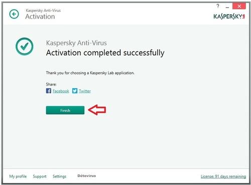 Kaspersky Antivirus Bêta 2015