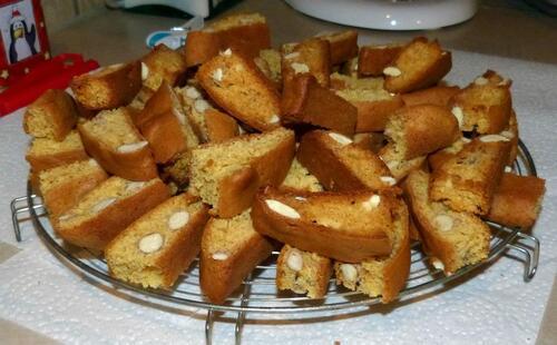 Biscuits aux amandes façon cantuccini