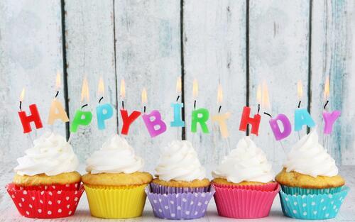 Cupcake ... D'anniversaire !