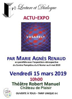 Actu expo du 15 mars 2019