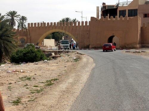 Une des portes de Tiznit Bab khemis