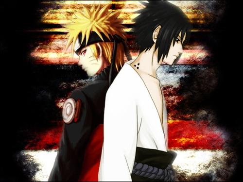 Image de Naruto et Sasuke