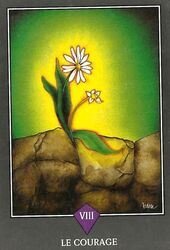 Tarot Zen - Le courage