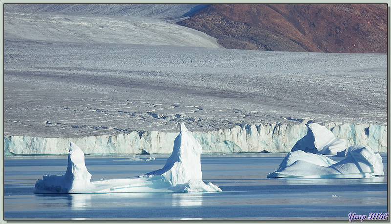 Arrivée à Savissivik - Meteorite Island - Groenland