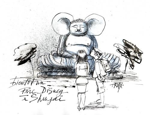 Bientôt un parc Disney à Shangaï, un parc Tibet à Lhassa