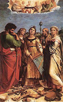 Sainte Cécile de Rome, Vierge romaine († 230)