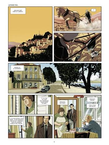 Les Résistants de septembre de Richelle & Buscaglia - Les Mystères de la Quatrième République, tome 1