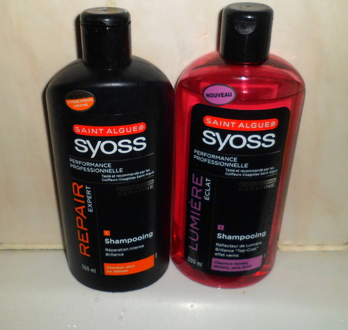 Shampoing Saint Algue Syoss