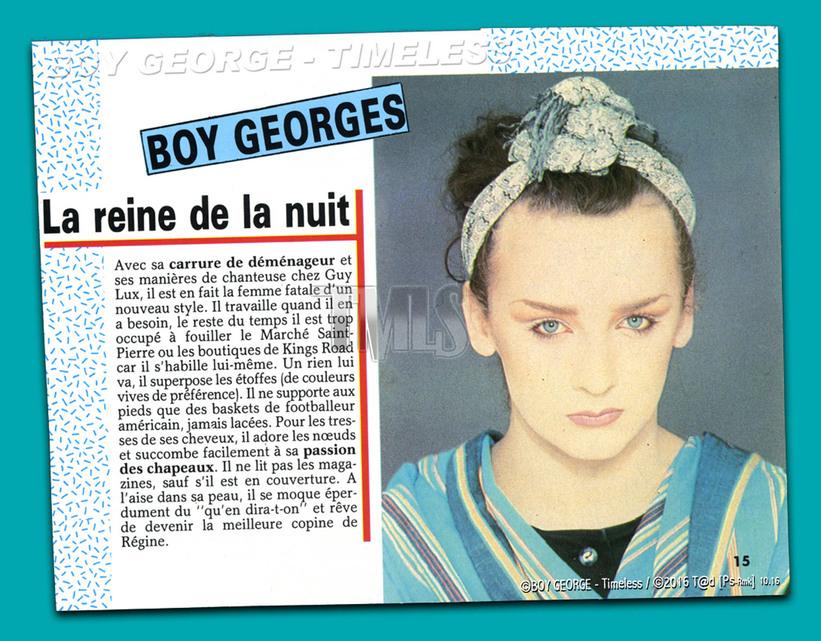 BOY GEORGE - 1983