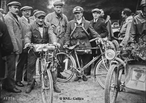 Bol d'or 1923 : les plus modestes...