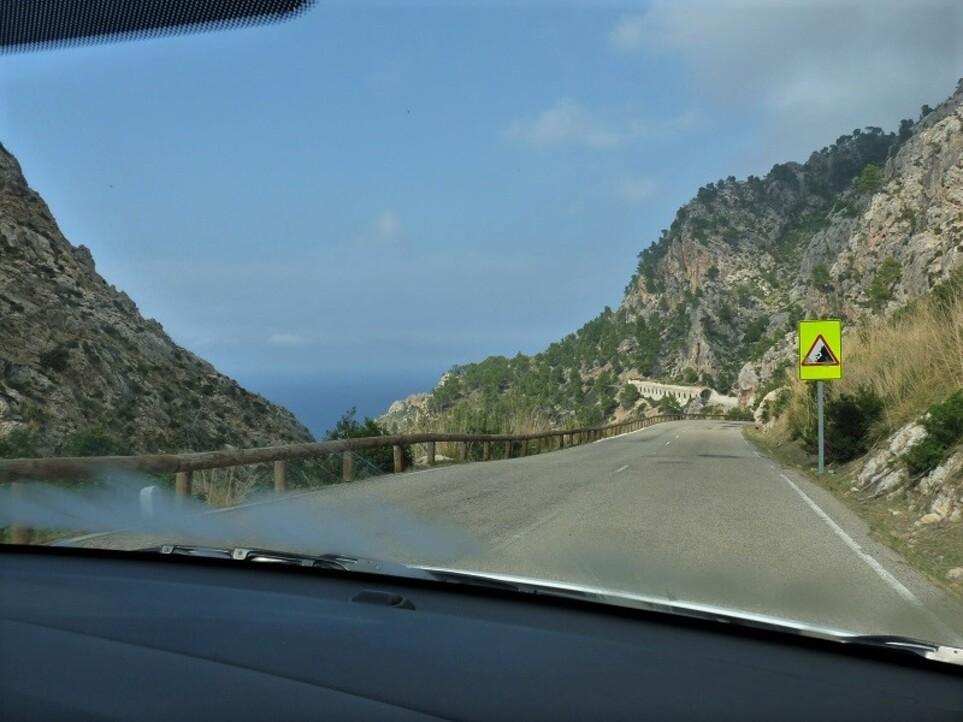 Sur les routes de Majorque