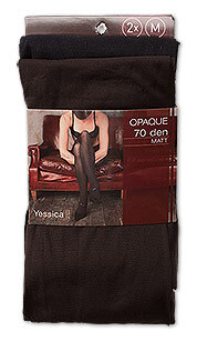 Collants épais in marron