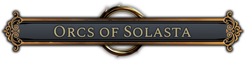 BIG NEWS : Solasta : Crown of the Magister, humain et orque*