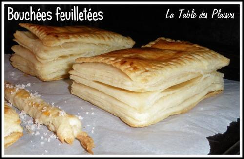 BOUCHÉES FEUILLETEES