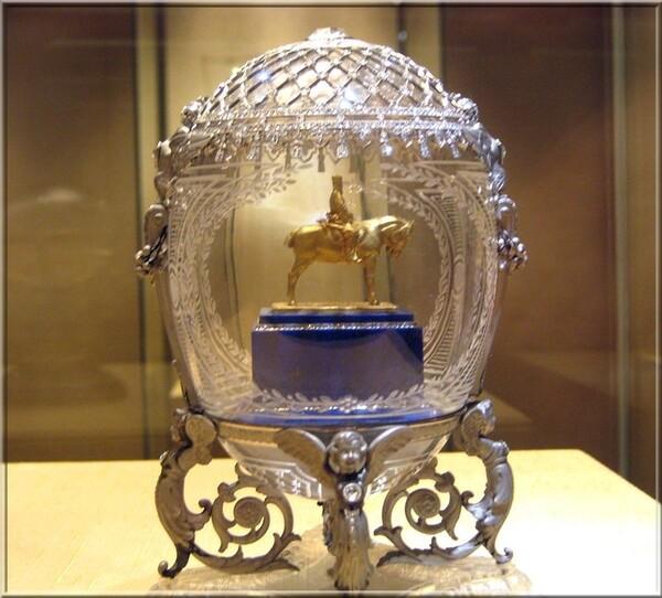 Pierre-Karl Fabergé l'Oeuf d'Alexandre III équestre
