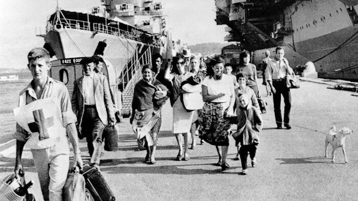 Lever de rideau sur l'Algérie française