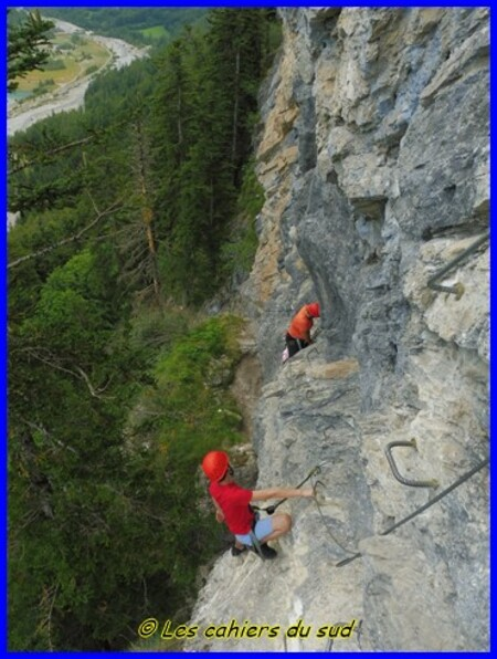 Via ferrata au rocher d'Arthouze