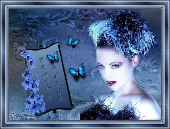 Beauté bleue