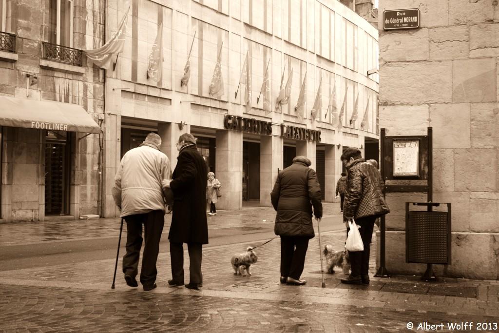 Besançon : rencontre au coin de la rue