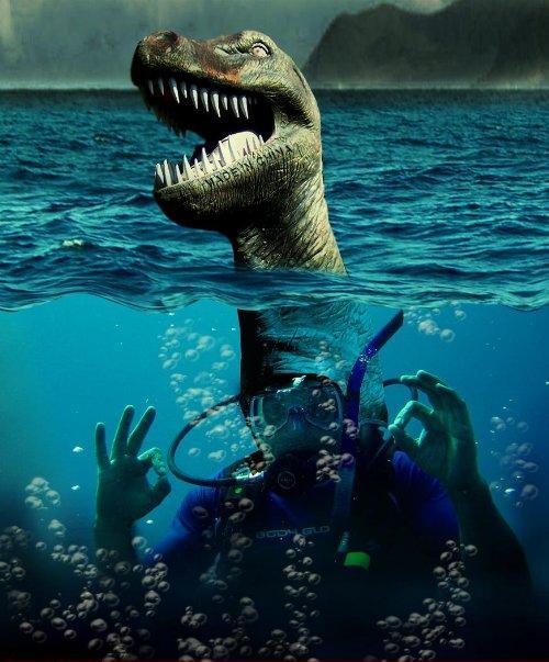 Loch Ness- Nessie ..