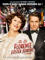 """Florence Foster Jenkins : L'histoire vraie de Florence Foster Jenkins, héritière new-yorkaise et célèbre mondaine, qui n'a jamais renoncé à son rêve de devenir une grande cantatrice d'opéra. Si elle était convaincue d'avoir une très belle voix, tout son entourage la trouvait aussi atroce que risible. Son """"mari"""" et imprésario, St Clair Bayfield, comédien anglais aristocratique, tenait coûte que coûte à ce que sa Florence bien-aimée n'apprenne pas la vérité. Mais lorsque Florence décide de se produire en public à Carnegie Hall en 1944, St Clair comprend qu'il s'apprête à relever le plus grand défi de sa vie...-----...Date de sortie 13 juillet 2016 (1h 50min) De Stephen Frears Avec Meryl Streep, Hugh Grant, Simon Helberg plus Genres Biopic, Drame, Comédie Nationalités Britannique, Français"""