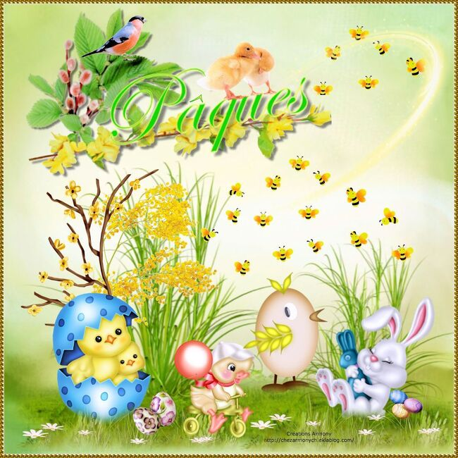 Tags Joyeuses Pâques