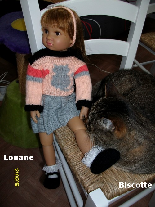 Louane est contente...