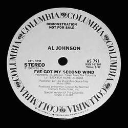 Al Johnson - I've Got My Second Wind