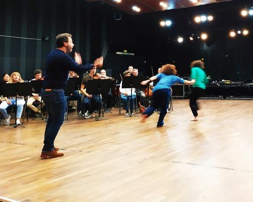 En préparation: Ma Mère L'Oye / Cie Didascalie / Orchestre de Cannes