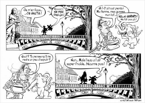 Second gag de Gérard Mansoif et Bibi