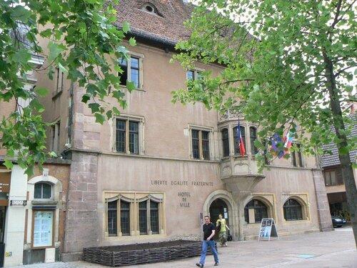 La mairie de Guebwiller