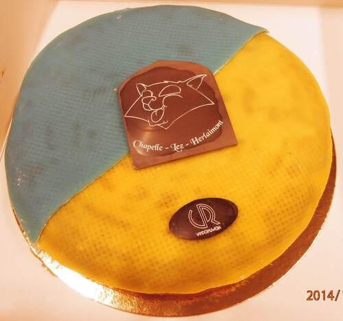 Le gâteau du T'chat de Chapelle-lez-Herlaimont