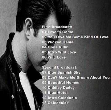 Lives - Jour 6 - Chris Isaak - 19 mars 1991 - Utrecht FM
