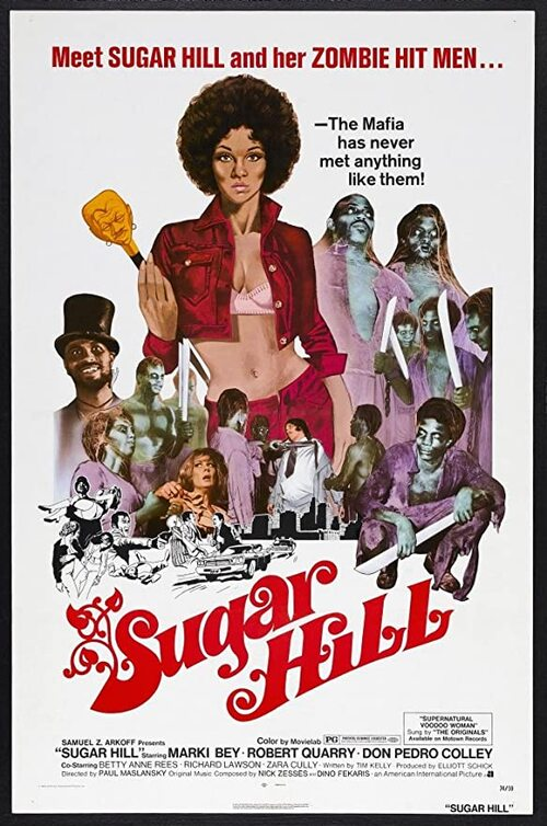 SUGAR HILL BOX OFFICE USA 1974