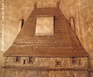 Un baut-relief pour la Tour du Bost