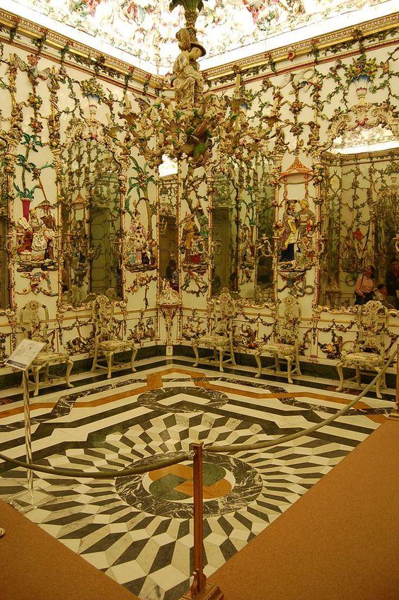 Chinese Room (Porcelain Cabinet), Palacio Real de Aranjuez, Spain