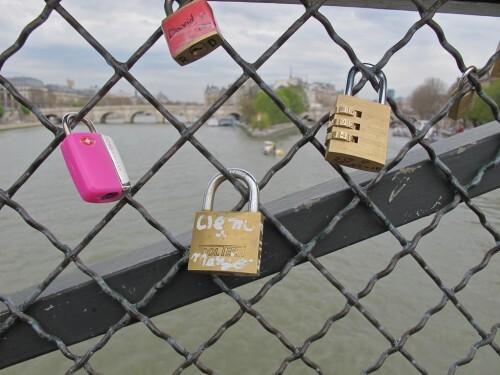 cadenas d'amour Pont des Arts 24