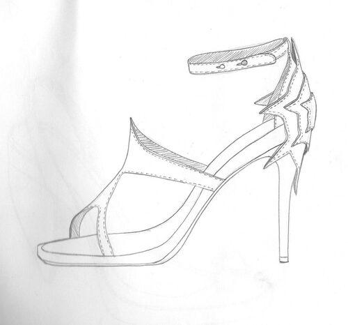 stars on the heels