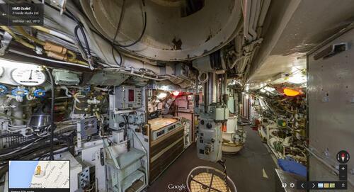 Visite de sous-marin