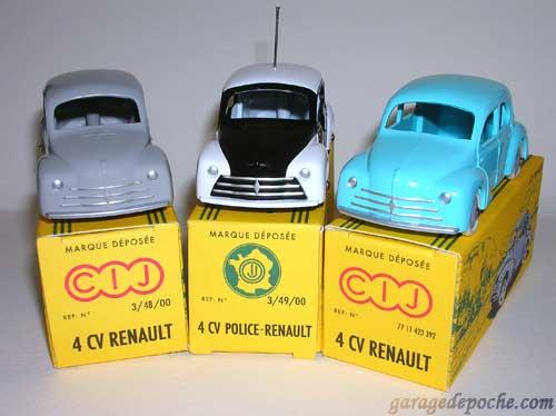 Renault 4cv CIJ
