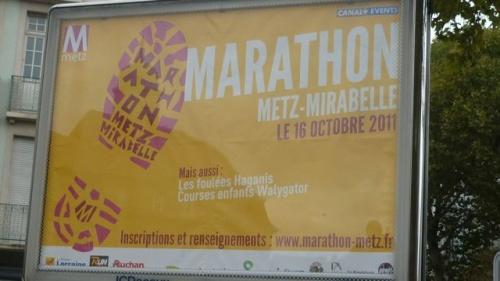 Marathon de Metz (8 octobre 2011)