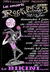Le Bikini - Deux jours de festival en juin - Ramonville-Saint-Agne