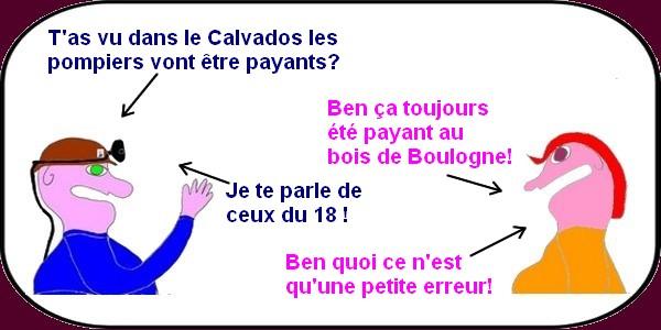 Même les pompiers deviennent payants en France?