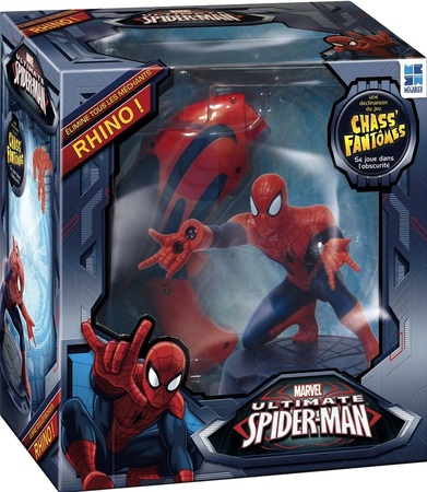 "Ultimate Spiderman Chass'Rhino ""Jeux Jouets"""