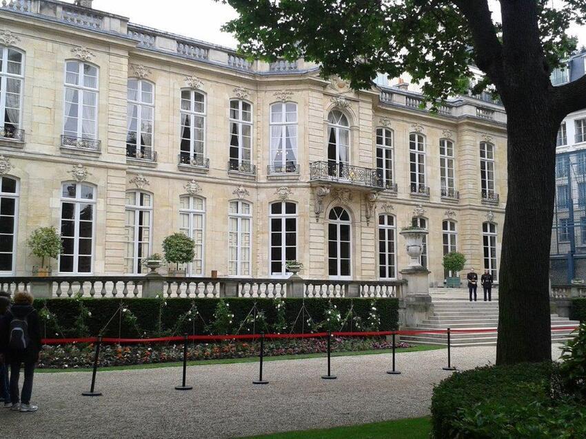 Parc de l'hôtel Matignon (suite)