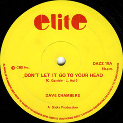 Dave Chambers - Don't Let It Go To Your Head