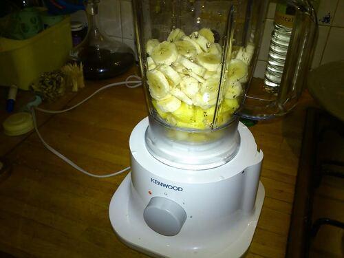 Smoothie Banane/Ananas/poire
